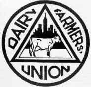 Dairy Farmers Union symbol.